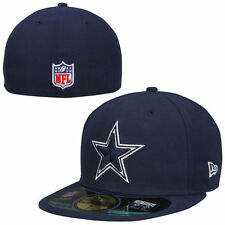 Dallas Cowboys New Era 59FIFTY Performace Fitted Hat - Navy - Size 7 1/2