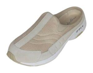 easy spirit Traveltime Women's Sz 8 M Clog Beige Shoes 598106