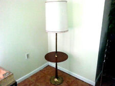 Mid Century Laurel? Rosewoo Tulip table floor lamp flutted baseTorchere Original