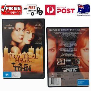 Practical Magic DVD Sandra Bullock Nicole Kidman - Like New, *Free Shipping*