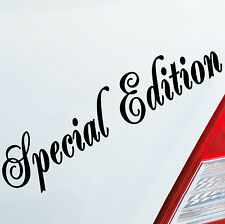 ADESIVI AUTO SPECIAL EDITION Tuning Car Sticker Fun DUB OEM JDM 697