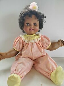 Vintage African American Baby Loves to Talk Doll by TOY BIZ 1992 Tested