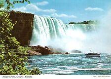 Canada-Niagara Falls-the Horseshoe se and the Maid of the Mist