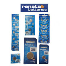 1 X Renata Swiss Made Button Coin Cell Watch Battery Batteries (all Sizes) 1 CR1620 1620 3v