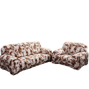 Sofa Covers 1/2/3/4 Seater Stretch Slipcover Graffiti Couch Cover Protector Deco