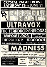 13/6/81PGN26 ADVERT: SUMMER IN THE CITY CRYSTAL PALACE BOWL 13 JUNE81 7X5