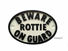 Rottweiler Instructional Dog Signs & Plaques