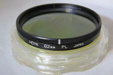 Hoya 62mm PL Polarizing Filter + Free UK Postage