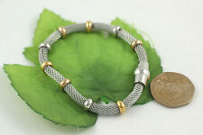 Gatik BR1075 Ladies 7'' Stainless Steel Chain Mesh Bracelet With Magnetic Clasp