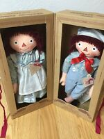 RARE Applause Raggedy Ann & Andy 30's Exposition Repro Ltd. Ed Dolls NRFB 1998