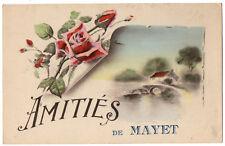 CPA 72 - MAYET (Sarthe) - Amitiés de Mayet