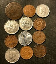 Old Canada Coin Lot - 1861-1947 - 12 Great Coins - Lot #D1