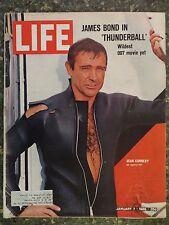 Life Magazine January 7,1966  Sean Connery James Bond 007  VINTAGE ADS