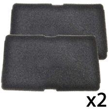 BEKO Genuine Tumble Dryer Foam Sponge Pad Filter Pads x 2