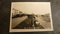 OLD 1930s SOUTH AFRICA PHOTOGRAPH, VIEW OF DURBAN, THE MARINE PARADE