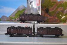 Piko H0 2-Achs Offene Güterwagen Set der ÖBB 3-tlg. Nr. 58095