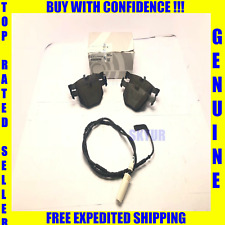 BMW Rear Brake Pad Set + Brake Sensor Kit E90 330 335 Genuine 34216790762