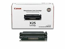 2 X Genuine CANON MF3110  MF3240 MF5530 MF5550 X25  TONER 8489A001AA, 8489A001
