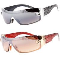 New DG Womens Fashion Designer Sunglasses Shades Rectangular Wrap Black Brown