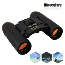 30 x 60 Zoom Mini Compact Binoculars Telescopes Roof Prism Foldable +Carry Case