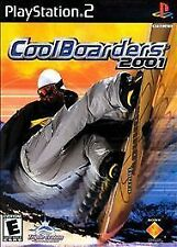 Cool Boarders 2001(PS2), Excellent PlayStation, Playstation 2 Video Games