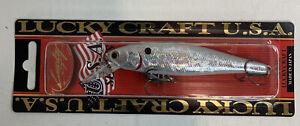 LUCKY CRAFT POINTER 100SP 5/8OZ PT100SP-449 WHITE KNIGHT