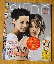 Revue Studio, 10 jeunes actrices françaises qu'on s'arrache, dvd absent, 09-2005