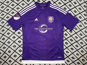Orlando City Soccer Futbol Jersey Adidas Youth Size XL MINT
