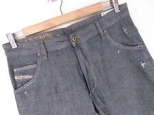rp1482 DIESEL JEANS ORIGINALE Premium KROOLEY Regular Slim CAROTA taglia 32/32