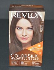 REVLON COLOR SILK 3D COLOR (# 27 DEEP RICH BROWN) NEW
