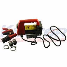 12V 175W Biodiesel Kerosene Pump Cast Fuel Oil Diesel Transfer Pump 45L/Min New