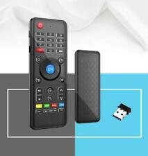 2.4GHz Fly Air Mouse QWERTY Touch Keyboard LED Backlit Remote Control H1