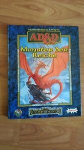 MONSTER DER REICHE AD&D VERGESSENE REICHE ADVANCED DUNGEONS&DRAGONS  FAST NEUW.