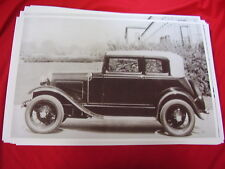 1931   FORD MODEL A VICTORIA      BIG  11 X 17  PHOTO  PICTURE