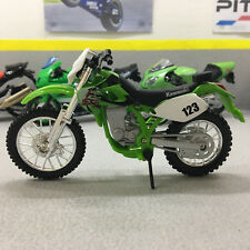Kawasaki KLX 250SR 1:18 Scale Die-Cast Model Motorcycle Bike