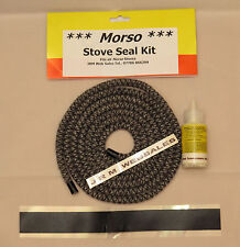 Morso Door Sealing kit & Body part sealing kit - 8mm Soft Rope & special glue