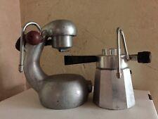 RARE Vintage BREVETTI ROBBIATI Atomic Stove Top Espresso Maker PLUS Vtg Frother
