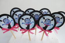 Vampirina Cupcake Toppers. Cake decor. Favor Tags ,party supplies SET OF 12