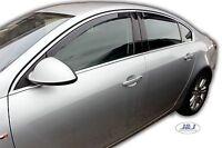 VAUXHALL INSIGNIA mk1 5doors Hatchback 2009-2016 4pc Wind Deflectors HEKO Tinted