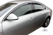 VAUXHALL INSIGNIA mk1 5doors Hatchback 2009-2016 4pc Wind Deflectors HEKO Tinted
