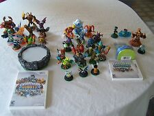 SKYLANDERS Nintendo 3DS SPYRO'S & Wii GIANTS Game w/ 34 figures, Wireless Portal