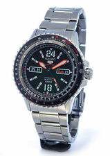 SEIKO 5 SPORTS 24 JEWEL AUTOMATIC FLIGHTMASTER PILOT'S WATCH SRP353J1