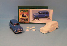 SMC-617 1950 Chevy Suburban  HO-1/87th Scale White Resin Kit (unfinished)