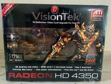 NEW Visiontek ATI Radeon HD4350 Graphics Card