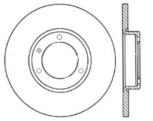 StopTech Slotted Sport Brake Rotor - st126.35116SL