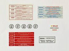 Peugeot 106/205 Engine Bay Stickers (Rallye, GTI, etc.)