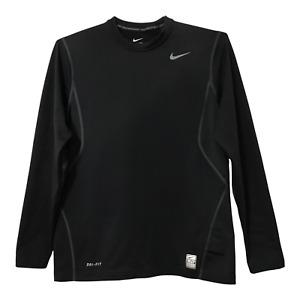 Nike Pro Combat T Shirt Adult Mens Medium Black Fitted Compression Shirt Active