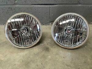 Wipac Front Headlights Land Rover Defender (Pair) Genuine Original Lights