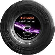 NEW TENNIS STRING DYREEX BLACK ROUGH 2 GAUGES 200M