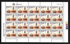 CYPRUS - SG586-587 MNH 1982 SHEETLETS (20 SETS) EUROPA - HISTORIC EVENTS